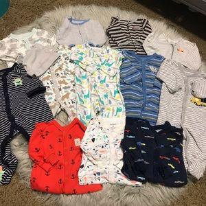 Carters Baby Boy Pajama Bundle